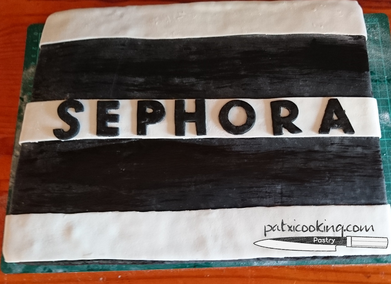 Tarta para la empresa Sephora